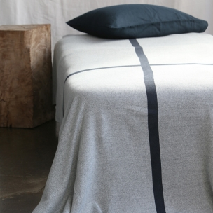 Cotton Cross Jacquard Knit Blanket $310