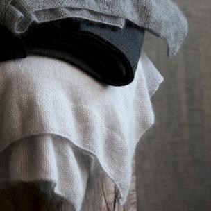 Mo-flash - Merino Wool  Mohair luxury knit blanket