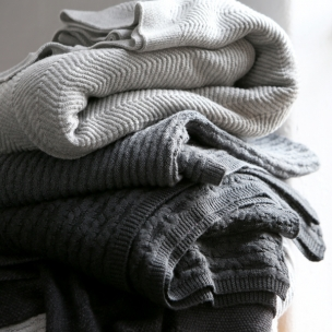 Merino Wool Honeycomb Blanket $390