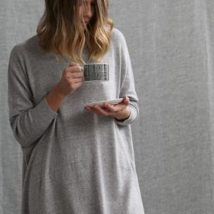 Superfine Jersey Knit Dress . . . $209 . . . KANGA