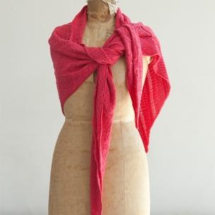 100% Pure Cotton crochet tri wrap