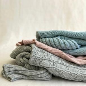 Luna Gal Autumn cotton knitwear