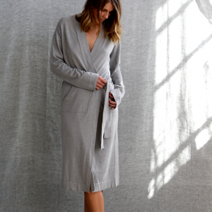 Super Soft Jersey Knit Gown . . . $250 . . . S-M M-L . . . KANGA cotton