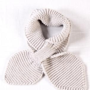 Moss. Merino Wool...Knitted Loop Scarf... $40