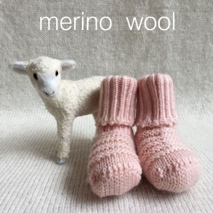 Booties. Wool Knitted Baby Booties ... $39