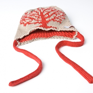 'Tree' Bonnet - Knitted in Cotton
