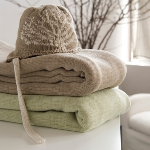 Jersey Knit Blankets - Cotton . . . $90 pram . . .  $130 cot