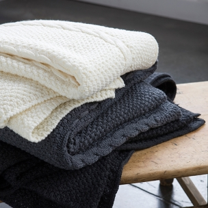 Cable Knit Blankets - Merino . . . $185 bassinet . . . $275 cot