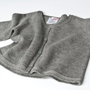 Cardi - Knitted in Extrafine Merino Wool