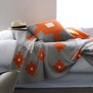 Tetris knit Blanket . Cotton ... $300 kids size
