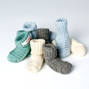 Baby Booties. Pure Cotton. Knitted Booties... $35