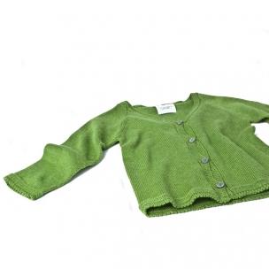 Cotton V Neck Knit Baby Cardi ... $35