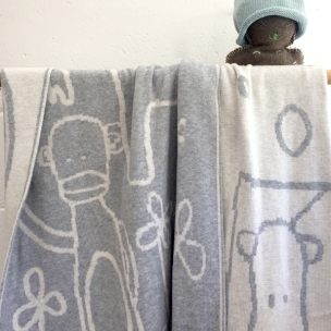 ZOO. Knitted Cotton Blanket ... $139 cot