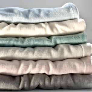 Jersey. Merino Wool...Knitted Bassinet Blanket ...$130