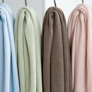 Jersey. Merino Wool...Knitted Cot Blanket ... $175