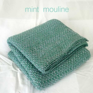 Mouline. Cotton Baby Knit PRAM Blanket ... $95