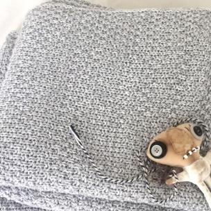 Mouline Cotton Knit COT Blanket ... $139