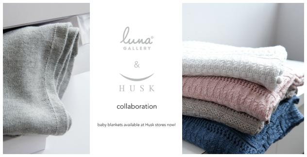 luna gallery husk collaboration