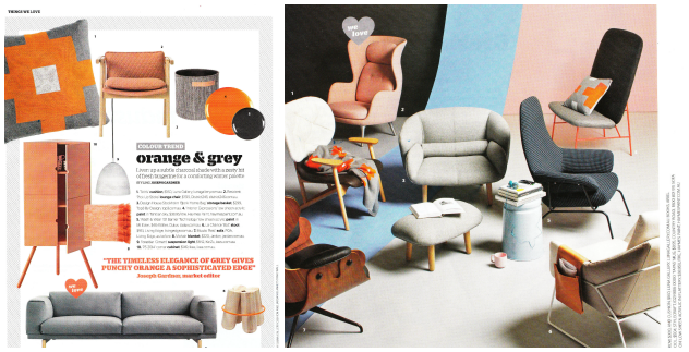 Luna Home knitted homewares in Inside Out Magazine