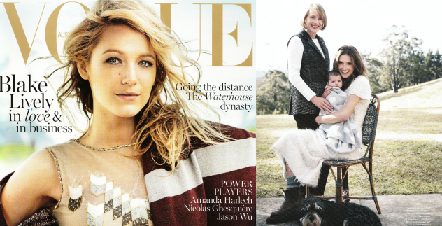 Stylish Waterhouse Dynasty in Vogue Australia