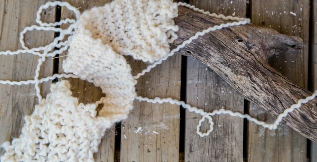 merino wool homespun yarn