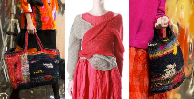 Knit design by Daniella Gregis is one of our faves at Luna Gal.