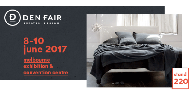 Knitted blankets available at Denfair melbourne design fair 2017